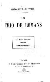 Ouvrages: Un trio de romans