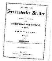 Vereinigte Frauendorfer Bl  tter PDF
