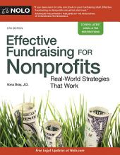 Effective Fundraising for Nonprofits: Real-World Strategies That Work, Edition 5