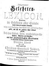 Allgemeines Gelehrten-Lexicon ...