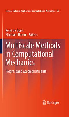 Multiscale Methods in Computational Mechanics PDF