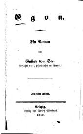 Egon: ein Roman, Teil 2