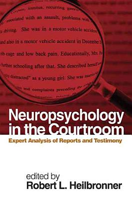 Neuropsychology in the Courtroom PDF