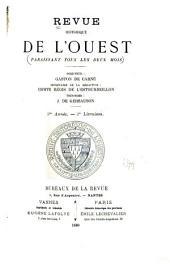 Revue historique de l'Ouest: Volume5