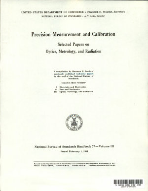 National Bureau of Standards Handbook