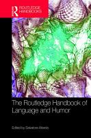 The Routledge Handbook of Language and Humor PDF