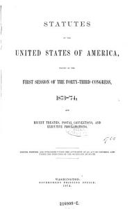 Statutes of the United States of America PDF