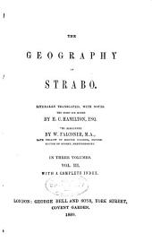 The Geography of Strabo: Volume 3