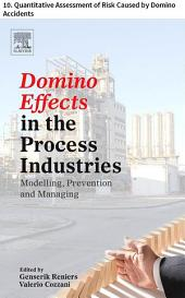 Domino Effects in the Process Industries: 10. Quantitative Assessment of Risk Caused by Domino Accidents
