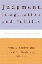 Judgment Imagination And Politics Book PDF