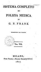 Sistema Completo Di Polizia Medecina: Volume 1