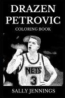 Drazen Petrovic Coloring Book
