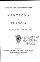 Mantegna and Francia PDF