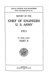 Annual Report of the Chief of Engineers, United States Army: Volume 2