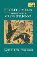 Prolegomena to the Study of Greek Religion PDF