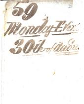 Positive Sale, on Monday Evening, August 30, 1847, at Five for Six Exact Time: A Catalogue of 2000 Volumes of Books, and Two Hundred Lots of Miscellaneous Property, ... which Will be Sold by Auction