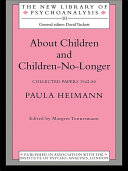 About Children and Children-No-Longer