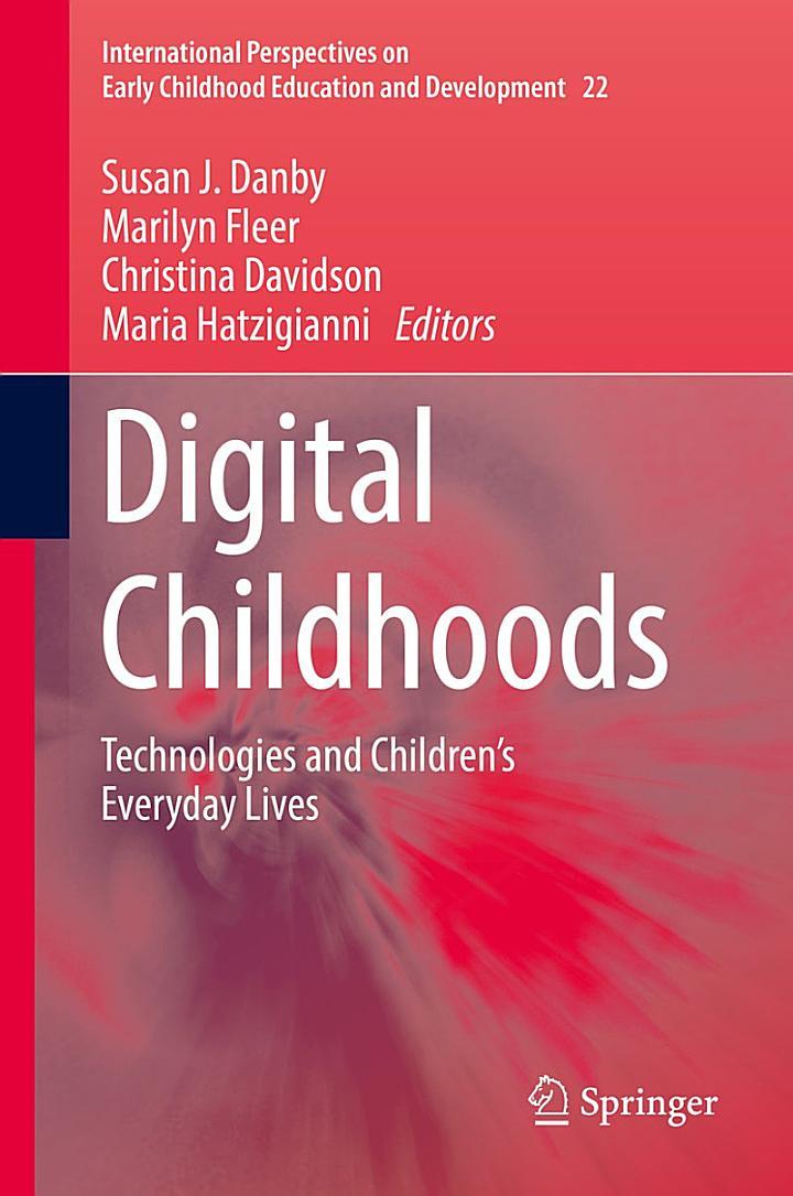 Digital Childhoods