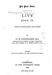 Livy: Book 9