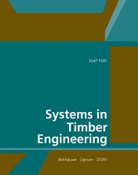 Systems In Timber Engineering Book PDF