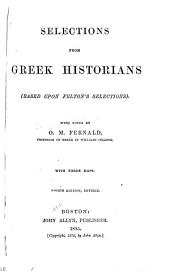 Selections from Greek Historians