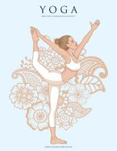 Yoga libro para colorear para adultos 1