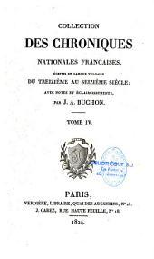 Chroniques de Froissart: Volume3
