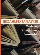 Erzähltextanalyse [German-language Edition]