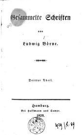Gesammelte Schriften von Ludwig Börne: Band 3