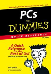 PCs For Dummies Quick Reference: Edition 3