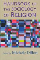 Handbook of the Sociology of Religion PDF