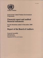 Financial Report and Financial Statements for Biennium Ended 31 Dec 05 and Report of Board of Auditors