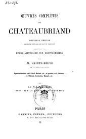 Œuvres complètes de Chateaubriand: Volume11