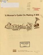 A Woman's Guide on Making a Will