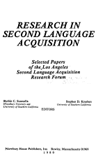Research in Second Language Acquisition PDF