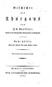 Von der Urzeit bis zum Jahres 1499. Mit Urkunden und Nachweisungen: Band 1