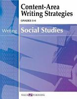 Content Area Writing Strategies for Social Studies PDF