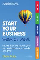 Start Your Business Week by Week PDF