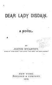 Dear Lady Distain: A Novel
