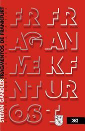 Fragmentos de Frankfurt: ensayos sobre la teoría crítica