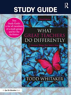 Study Guide  What Great Teachers Do Differently Book