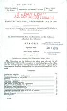 Family Entertainment and Copyright Act of 2005 PDF