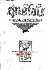 Epistole heroidum novissime recognitae aptissimique figuris excultae