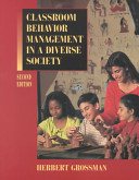 Classroom Behavior Management in a Diverse Society PDF