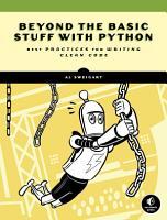 Beyond the Basic Stuff with Python PDF