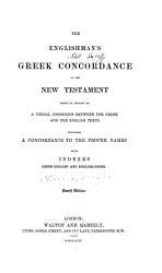 The Englishman s Greek Concordance of the New Testament PDF