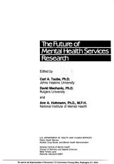 The Future of Mental Health Services Research PDF