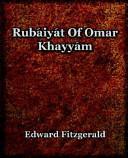 Rubaiyat Of Omar Khayyam  1899  PDF