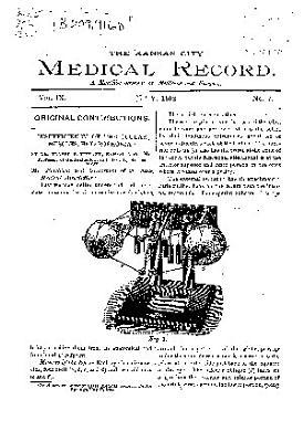 The Kansas City Medical Record PDF