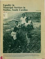 Equality in Municipal Services in Mullins, South Carolina